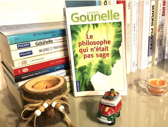 Le philosophe qui n'était pas sage de Laurent Gounelle
