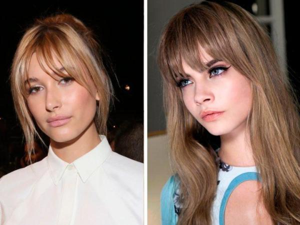 Стрижки на длинные волосы 2020 женские с косой челкой фото ...