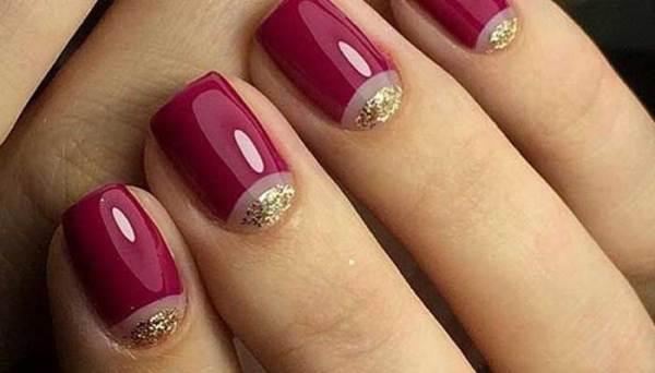 Маникюр гель лак простой: Красивые дизайны ногтей гель ...