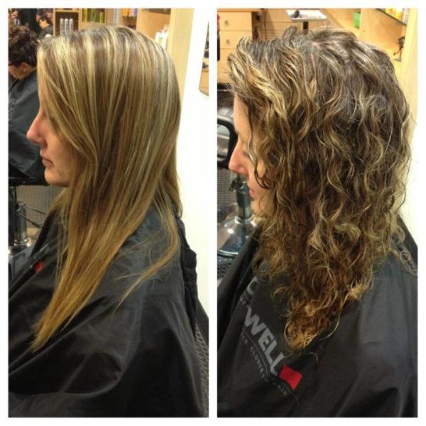 Виды химии для волос фото на средние волосы – что это ...