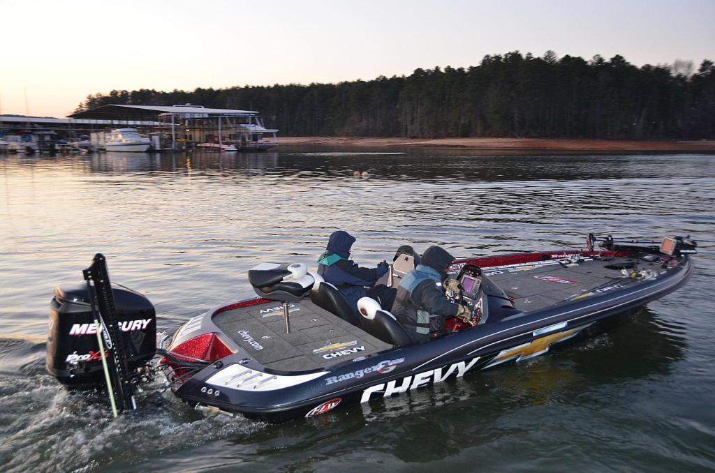 FLW Chevy Fishing Boat