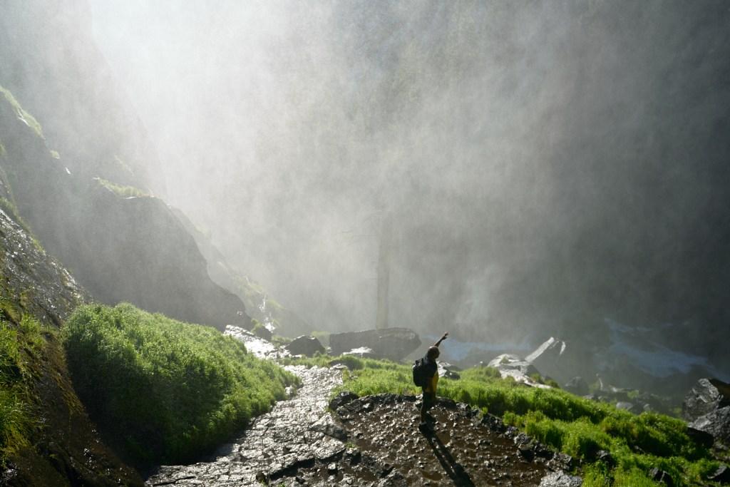 Hiking Vernal Falls
