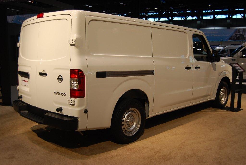 Living in a Nissan NV 1500 Cargo Van