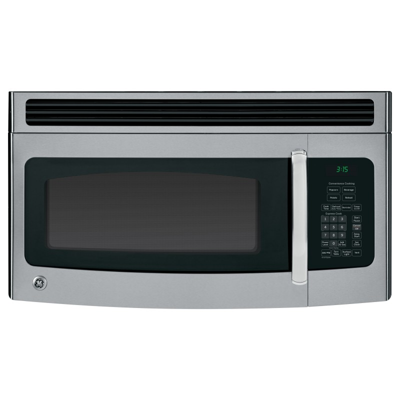 ge jvm3150rfss 1 5 cu ft over the range microwave in stainless steel