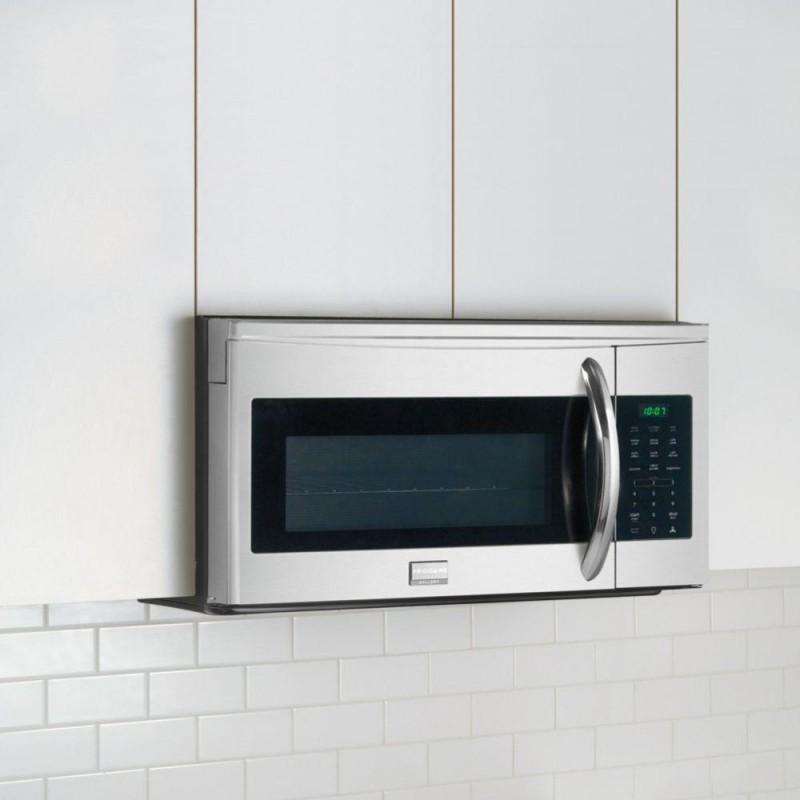frigidaire fgmv175qfa gallery 1 7 cu ft over the range microwave