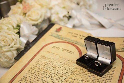 Shani and Omri Ketubah and rings