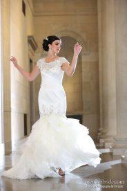 gorgeous wedding gown
