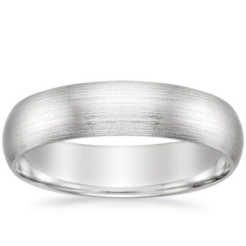 Matte Comfort Fit Ring