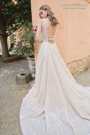 Raffaeleciuca wedding gown back with train