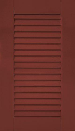 Desert Red Louver