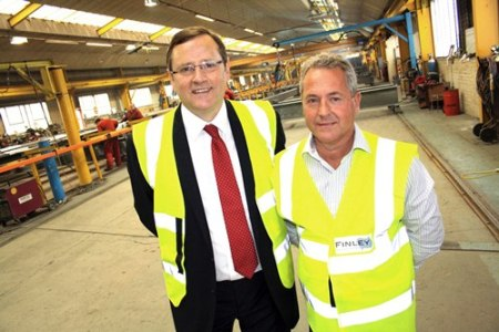 Finley Structures- John Finley - Durham- Sedgefield MP Phil Wilson