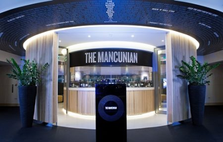 The Mancunian at Manchester City Football Club-Etihad Stadium