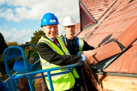 Roof topping ceremony- NHS Foundation Trust
