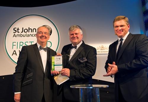 Ardmore Construction- Construction and Maintenance Award at the St John Ambulance First Aid Awards