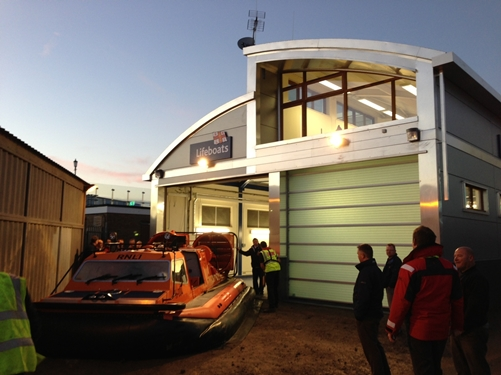 Lifeboat and Hovercraft Station- Southend on Sea