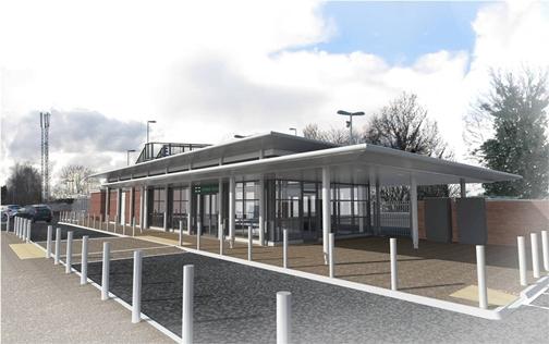 Hassocks station and Ashtead station