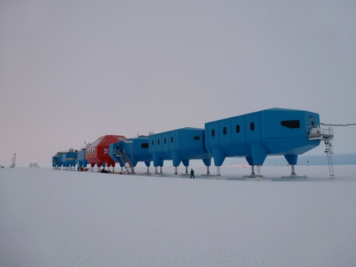 Halley VI- Brunt Ice Shelf, Antarctica