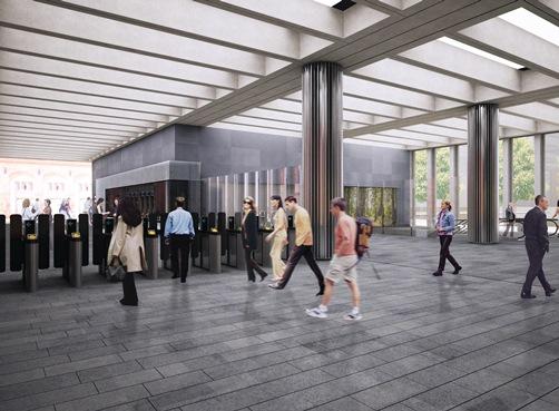 Bond Street Station- Crossrail