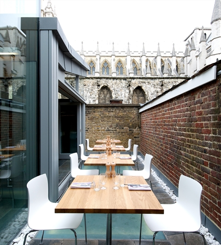 The Cellarium Cafe & Terrace- Westminster Abbey