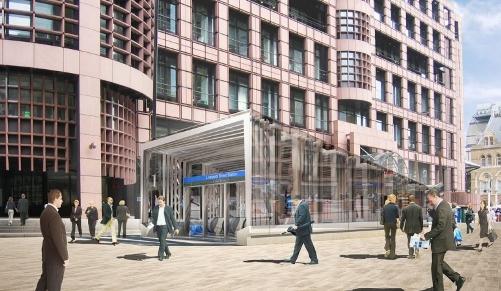 Liverpool St Station- Crossrail