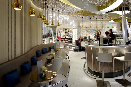 Harvey Nichols Store  Four IV Beauty Bazaar, Portview Fit-Out Limited
