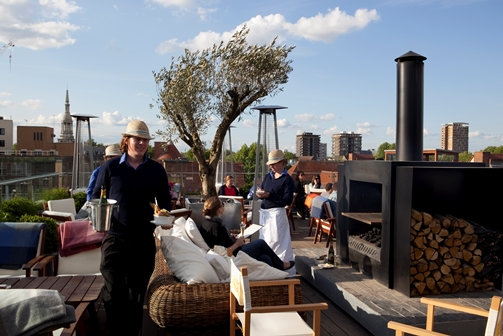Rooftop Bar & Grill - the Boundary building, Shoreditch