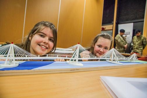 Pupils Bridging the gap- Upton Hall School FCJ