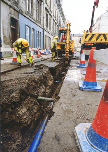 Scottish Water Mains Renewal