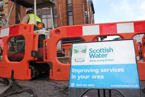 Scottish Water Meadowhead and Stevenson project