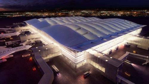 Terminal 2 at Heathrow Airport