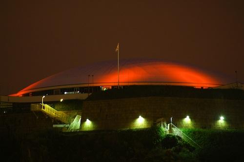 Fort Regent Roof- Jersey