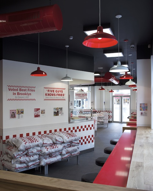 Five Guys- Covent Garden