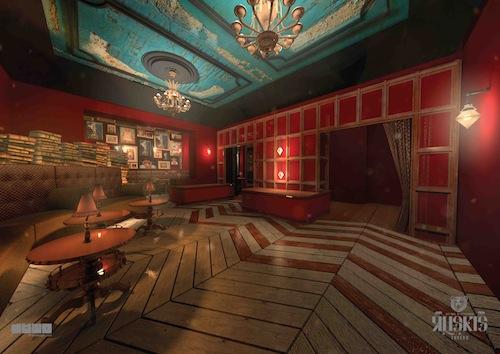 Ruskis Bar, London