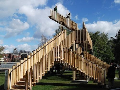 Astonishing installation- Endless Stair