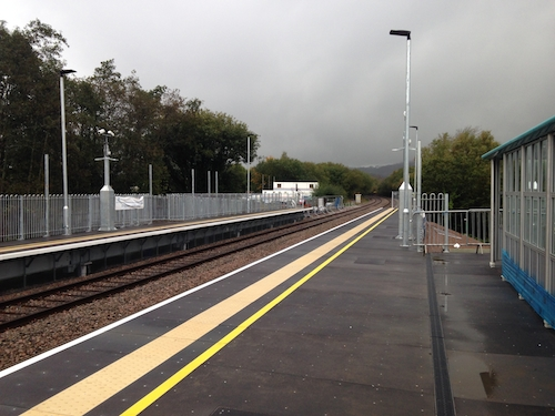 Energlyn & Churchill Park Station, Caerphilly