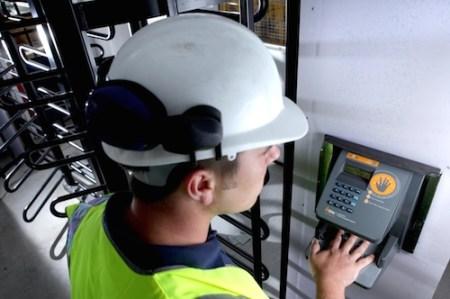 Innovative Worker Verification System- Olympic Park