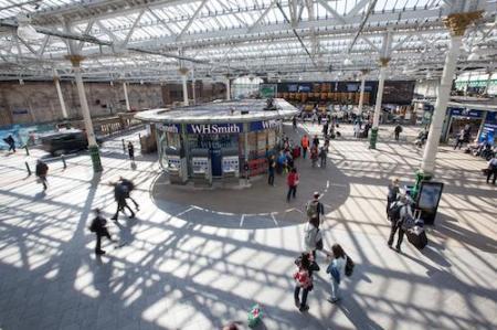 Waverley Station, Edinburgh