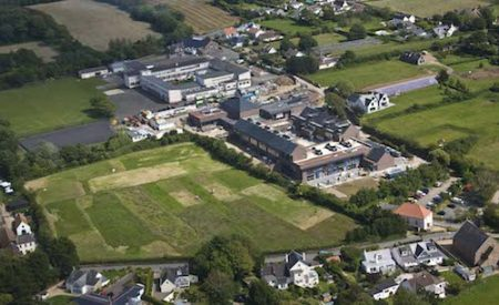 Picture:Brian Green - 19/06/2012 - Aerial F - New Beaucamp school, Guernsey
