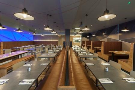 VQ Bloomsbury, 111A Great Russell Street, London, Chelsea, Restaurant & Bar Design awards 2014