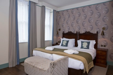 Morton Hotel Bedroom, London