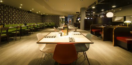 All Star Lanes, Manchester, Deansgate, Restaurant & Bar Design Awards 2014
