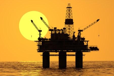 Golden Eagle Oil Rig