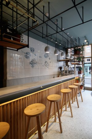 Opso Restaurant, Marleybone, London