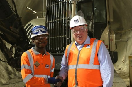 BFK appoints 100th apprentice, Crossrail
