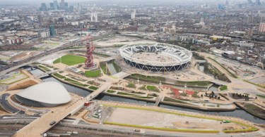 South Olympic Park, Stratford, London