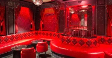 Le Peep Boutique, nightclub interior, Mayfair, London. Architect Nick Leith-Smith, London's Park Lane