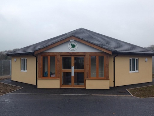the Ferne Animal Sanctuary in Wambrook near Chard in Somerset