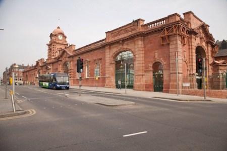 Nottingham Hub Station