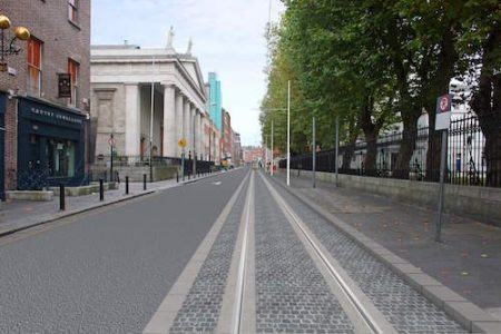 Luas Cross City, Dublin