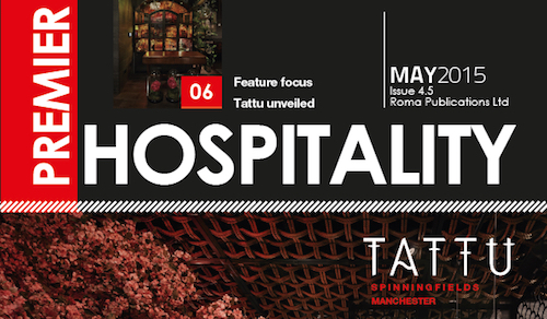 This month in Premier Hospitality Issue 4-5- T